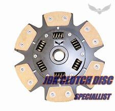 JDK 1999-2000 HONDA CIVIC Si 1.6L B16 STAGE3 CERAMIC 6 PUCK CLUTCH DISC 219mm