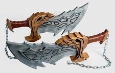 BLADES OF CHAOS God of War KRATOS Swords -- Life Size Props Cosplay 1:1 Replicas