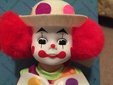 "Madame Alexander 8"" Doll, 1980's ""BOBO CLOWN"" #310 Made USA MIB, New"