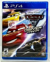 Cars 3 Driven to Win - PS4 - Brand New | Factory Sealed