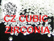 3.00 mm CZ CUBIC ZIRCONIA WHITE ROUND STONES Qty. 100 PCS LOOSE STONE