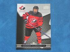 2018-19 18/19 Team Canada Juniors #46 Anderson MacDonald