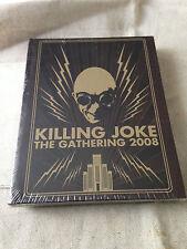 KILLING JOKE - The Gathering 2008 LTD ED DIGIBOOK 4CD SET BRAND NEW & SEALED!