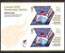 GB 2012 Paralympics/Olympics/Sports/Gold Medal Winners/Helena Lucas  2v + n36309