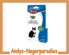 3 Pack Spot On Flohschutz und Zeckenschutz für Katzen
