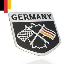 Metal Racing Car German Flag Emblem Grille Badge Decal Sticker For VW BMW Benz g