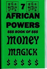 THE 7 AFRICAN POWERS BOOK OF MONEY MAGIC occult seven orishas