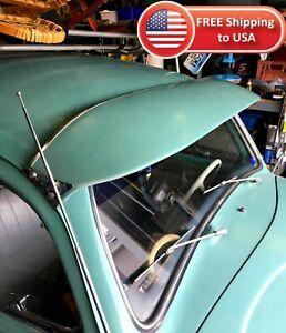 BLACK VW Sun Visor 1952-79 Bug Exterior Beetle, Ragtop, Super (NO CONVERTIBLES)