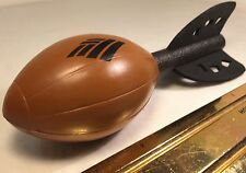 BANK OF AMERICA BROWN FOAM RUBBER MINI FOOTBALL WITH FOAM WINGS OR FEATHERS