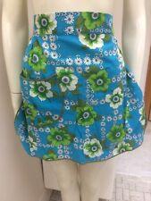 Original Vintage 60s 70s Ladies Apron Floral ,Retro Pinup Rockabilly