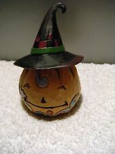 Jim Shore - Witch Hat Pumpkin