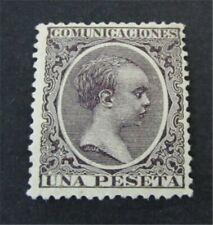 nystamps Spain Stamp # 268 Mint OG H $55
