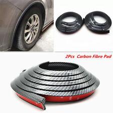 2x 1.5M Carbon Fibre Look Car Fender Flare Extension Wheel Eyebrow Protector Pad