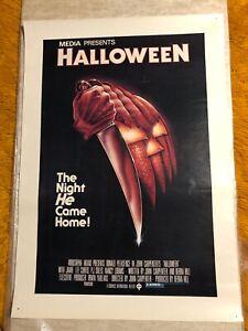 HALLOWEEN original movie poster 1979 john carpenter jamie lee curtis MEDIA