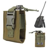 Bolsa Radio Molle táctica militar MBITR Walkie Talkie Holder Bag ejercito verde