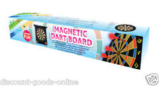 """16"""" MAGNETIC DART BOARD DARTBOARD WITH 6 DARTS GREAT PARTY GAME"""
