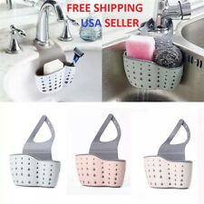 Kitchen Organiser Sink Caddy Basket Dish Sponge Holder Soap Dispenser