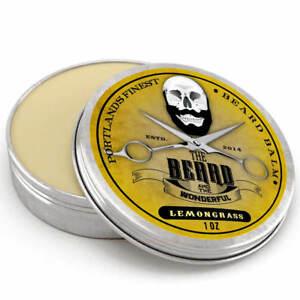 Lemongrass Beard Balm BIG 30ml Leave-In Beard Taming Styling Conditioner