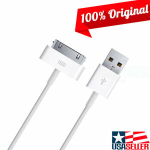 100% Original OEM USB to Apple 30-Pin Data Sync/Charger Cable for iPad 2nd Gen