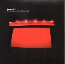 INTERPOL - TURN ON THE BRIGHT LIGHTS CD 2002