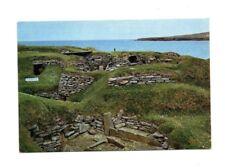 Scotland - Orkney, Skara Brae Prehistoric Village - Vintage Postcard