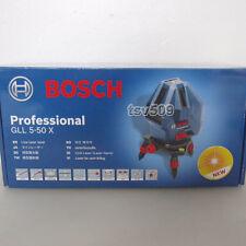 Genuine BOSCH GLL 5-50X Professional 5-Line Laser Self Level Measure Beam