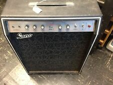 Vintage Sano Bass or Guitar Amplifier, All Tube, P2P Hand Wired, 1960's