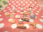 Decor Miniature~Sylvanian Families Accessory decor miniature mix 15pcs set