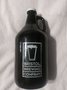 BRISTOL BREWING COMPANY 64 FL OZ GROWLER JUG