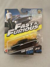 FAST AND FURIOUS Ford Victoria 1956 Diecast Car NEW MATTEL hot wheels