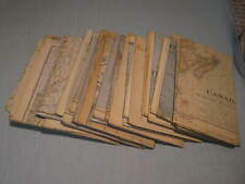 LOT OF 30 VINTAGE NATIONAL GEOGRAPHIC MAPS 1930s & 1940s