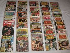 Silver & Bronze Age Lot/38 OUR FIGHTING FORCES War Comics #s Bet. 53-168 5.5 FN-