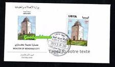 2013- Libya- Beacon of the Benghazi City ( Lighthouse)- Phare de Benghazi- FDC