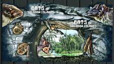 SALOMONINSELN Solomon 2012 Fledermäuse Bats Höhle Bäume Cave Trees MNH