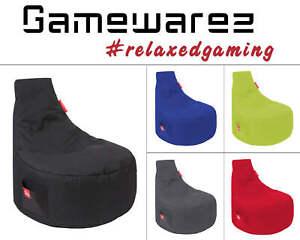 Gamewarez Sitzsack Serie Alpha Gamer Sessel Beanbag Lounge Chillout Sack Outdoor