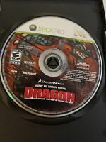 How to Train Your Dragon (Microsoft Xbox 360, 2010) Disc Only. Tested Minor Wear
