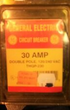 New Ge Thqp230 30 Amp Double Pole 120/240V Plug in Circuit Breaker Nos