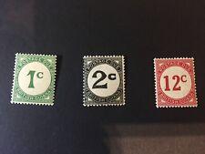 British Guiana:1940 Royal Postage Due set, D1 / 4 ordinary paper. , Mint