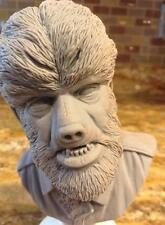 Wolfman  bust sculpted by Jeff Yagher  1/4 scale resin model kit