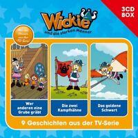 WICKIE - WICKIE-3-CD HÖRSPIELBOX VOL.5 3 CD NEW