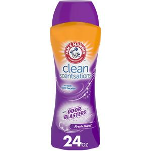 Arm & Hammer Clean Scentsations In-Wash Scent Booster - Odor Blaster, 24 oz.