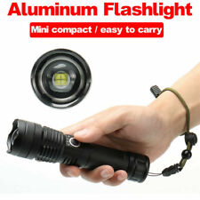 XHP P50 MOST POWERFUL FLASHLIGHT USB Zoom TORCH HUNTING LAMP Set +26650 Battery