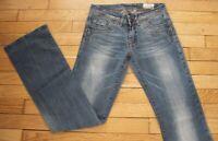 KAPORAL 5 Jeans pour Femme W 26 - L 34 Taille Fr 36 ONCE (Réf #G203)