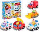 Pororo Figure + 5 Cars Set Pororo Croon Loopy Eddy Patty