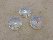 SWAROVSKI Strass 8115-28mm Aurora Borealis, Austrian Lead Crystal Octagon Prism
