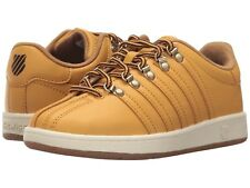 NIB K-Swiss Classic VN  Gold/Chocolate/Antique White 12 Little Kid M