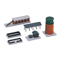 Kato 23-229 Steam Engine Service Facility Set - N