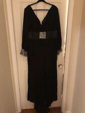 Long Formal Chiffon Black Dress