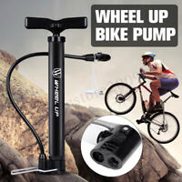 120PSI Car Bike Bicycle Air Pump Presta & Schrader Portable Tyre Tire Inflator