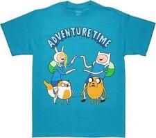 Adventure Time With Finn & Jake Twins Cartoon Network Tv Show Adult T Shirt S